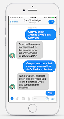 patient engagement bot