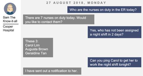 patient info retrieval bot